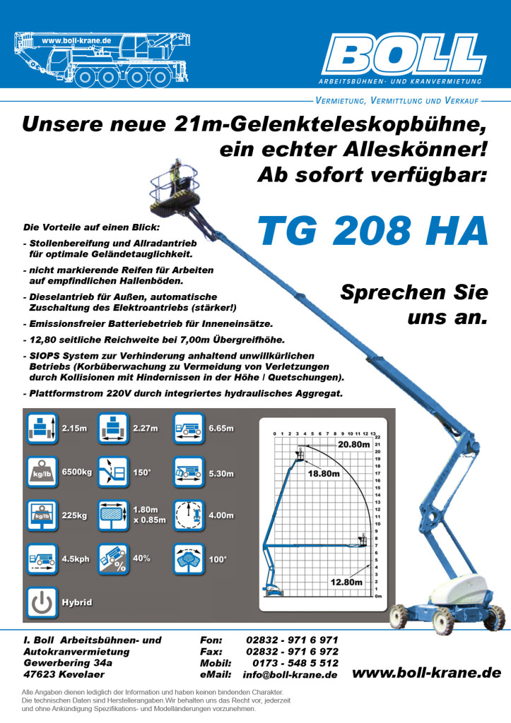 Flyer TG208HA